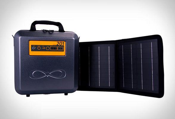 Портативный генератор на солнечной энергии