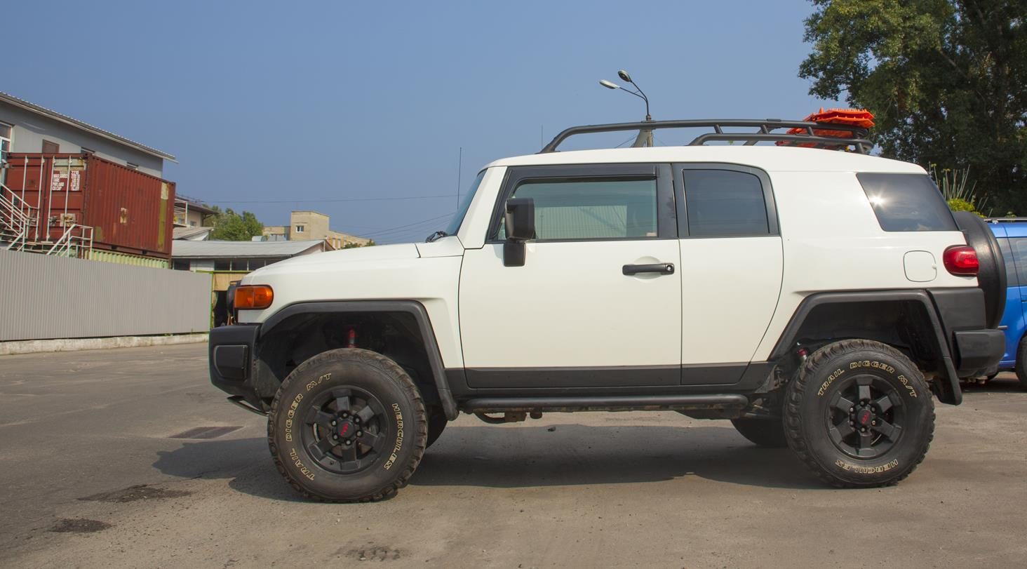 Toyota_FJCRUISER_Winch Suspension