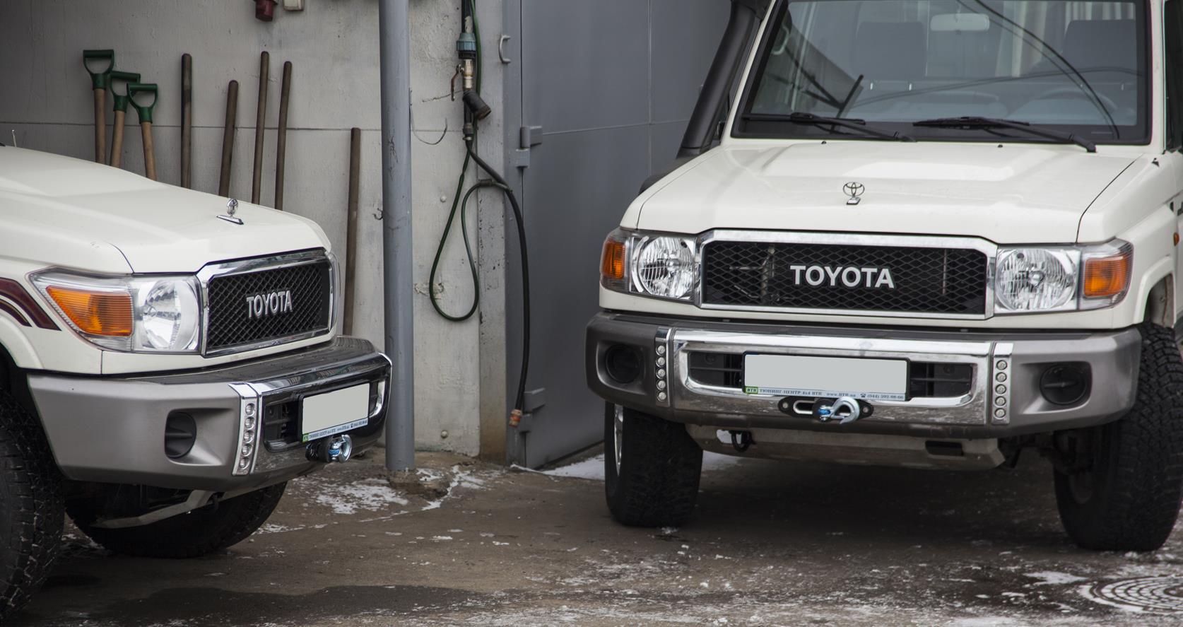 Лбедка для Toyota Land Cruiser
