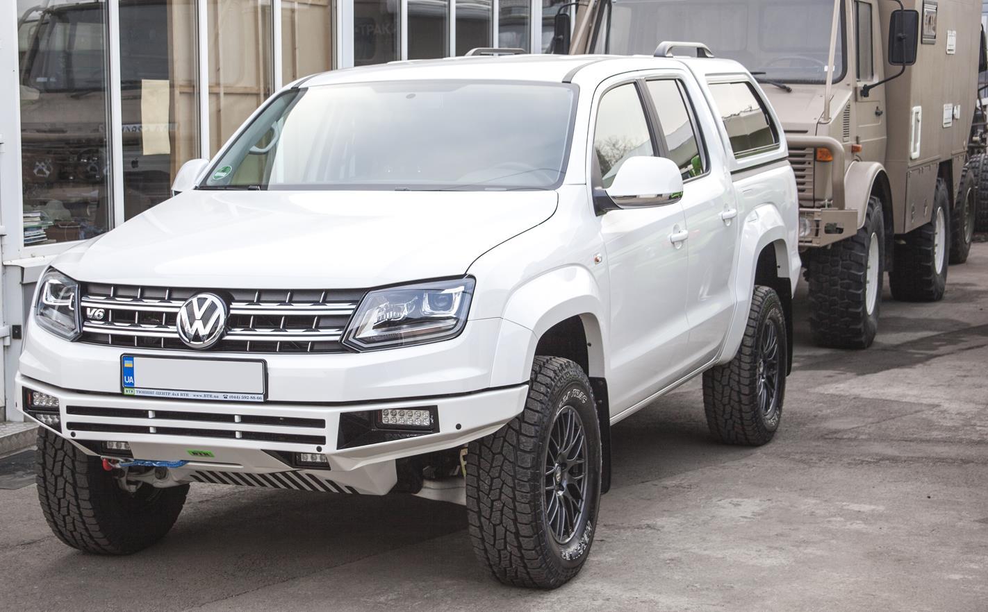 Volkswagen Amarok 2017 V6 Tuning 1