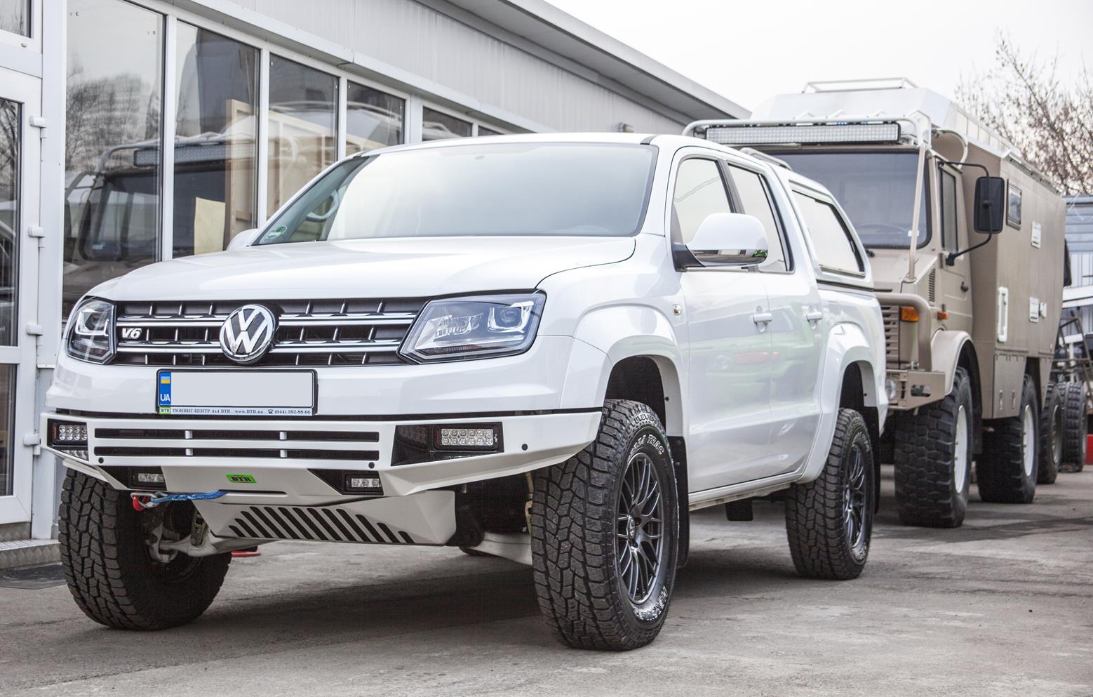 Volkswagen Amarok 2017 V6 Tuning 2